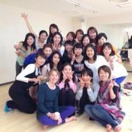 Yogaworks T.T.終了 (3月 Birgitte Kristen)