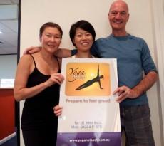 シドニーの日本語ヨガクラスのお知らせ(全3回)