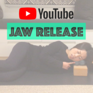 [Youtube更新] Jaw Release (英語)