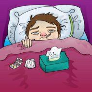 【病み上がり】と【風邪のひきはじめ】はクラスは休みしましょう